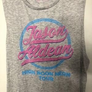 jason aldean Tops - Jason Aldean High Noon Moon Tour Tank Top